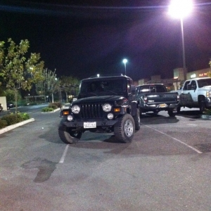 Sick Jeep bro! Worthy of parking like a douche!