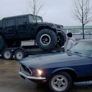 1969 Mustang in Oregon circa 2003