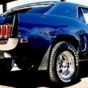 1969 Mustang in Utah circa 2002