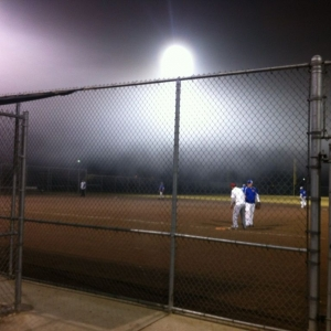 FML. Playing softball in 37* fog.