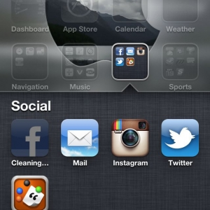 "Anyone else getting this ""cleaning..."" message with their iPhone"