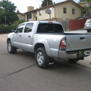 My new 2011 Toyota Tacoma Double Cab 4X4 V6