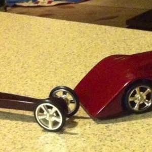 Found my old co2 cars. Built them about 15 years ago in Woodshop Class when