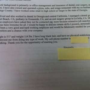 Just received this resume from a job applicant. Keep in mind I work for a l