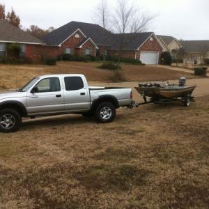 The duck rig yesterday mornin