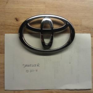 OEM Toyota emblem for sale