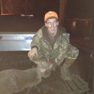 First deer yesterday