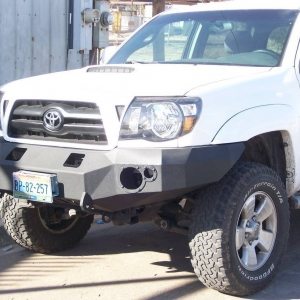 steel bumpers  tacoma
