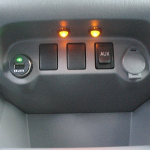 LED lighting for cupholders