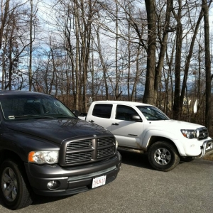 bros truck and mine