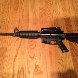 Just finished putting together a Colt 6920 upper with Spikes Tactical lower