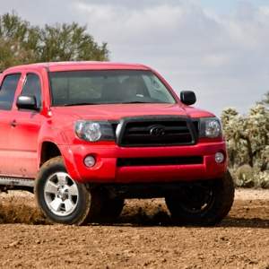 Rad red 2007 DCSB 4X4 TRD Off Road