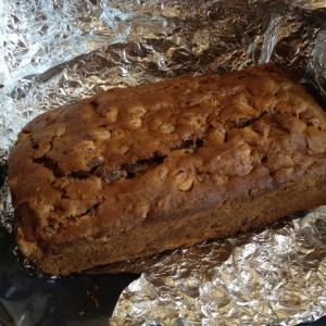 Mom sent me homemade pumpkin bread :drool: