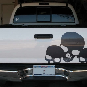 tailgate decal