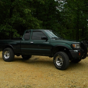 My truck before the build