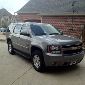 Middle brother got a Tahoe, no more Tacoma