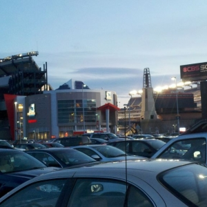 Gillette stadium. I guess that i have to become a patriots fan now :)
