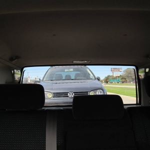 Towing the Golf 3