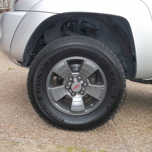 Painted wheels gunmetal (anthracite)