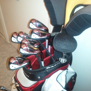 Can't wait to hit these new bad boys...Tour Edge Exotics....compliment
