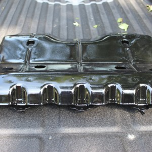 splash guard powder coated HD black gloss
