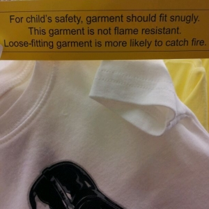So if its loose....my Son will spontaneously combustion??:confused:
