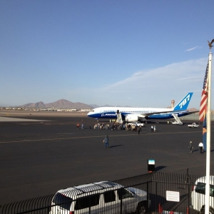 B787 at PHX yesterday.