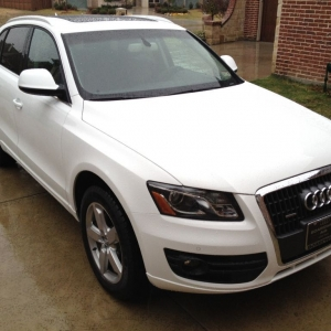 Traded in the X5 and got a Q5