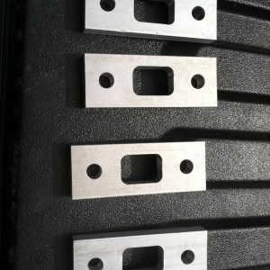 Custom blocks for mounting Thule to bed rails