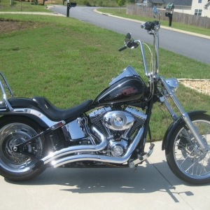 2008 FXSTC - old ride