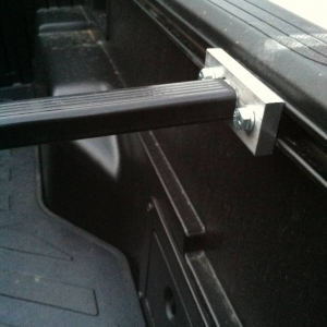 The Thule bed bars are finally done!