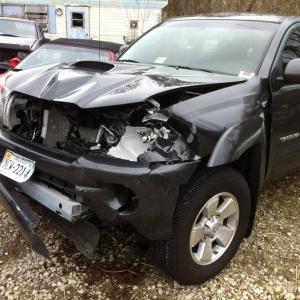 Wrecked 2011 Taco