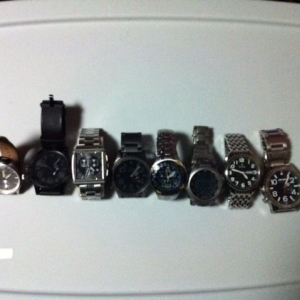 My ten fav. Watches!!