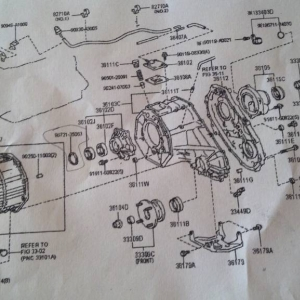 Transmission Assembly Drawing