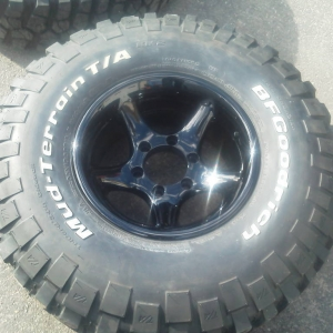 rims and tires done