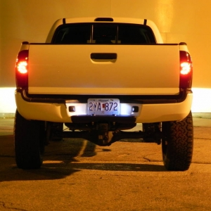 tinted tail lights