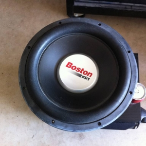 "Boston Acoustics 12"" sub"