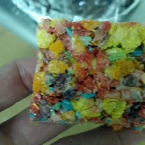 fruity pebble treats!