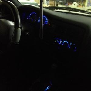 Blue Led Lights (side view)