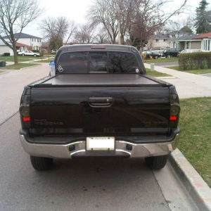 Tinted windows and smoked tail lights