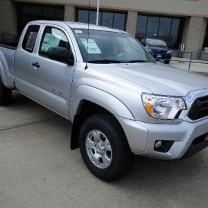 2012 Tacoma still on the new car lot