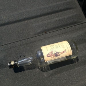 They could have atleast left me some rum since they put it in my truck bed