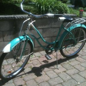 Found Pee Wee's bike.