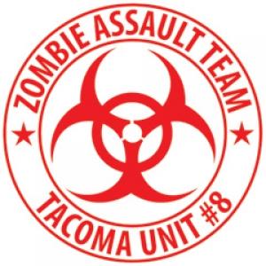 zombie response stickers