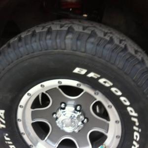 Toytec Lift, New BFG AT 285/75/r16 tires and ultra wheels