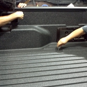 Line-X Bedliner Install