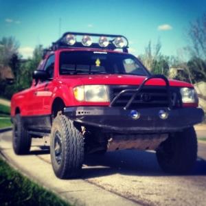 1999 Red Custom Taco