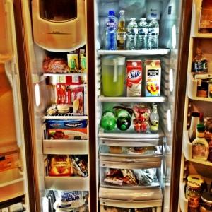 New fridge love the LEDs!