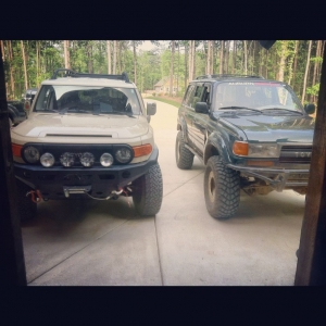 GSJ15 FJ Cruiser and FZJ80 Land Cruiser