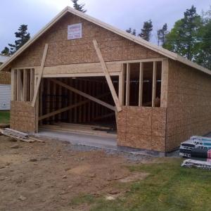 Garage getting closer